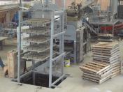 Máquina de blocos e pisos MAB 2000